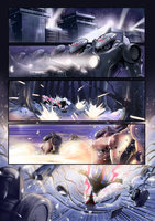 SHADOW THE HEDGEHOG PAGE#1 by Nezotholem