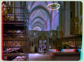 Inside the Cathedral Of Naumburg 3D :::: Anaglyph by zour