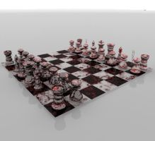 chess with board by Inconsistancy