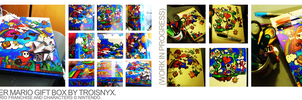 Super Mario Gift Box: Another marker-drawing spree by troisnyxetienne