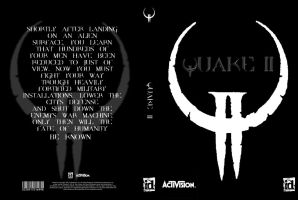 Quake II Cover - Black Edition by Grabeskuehle