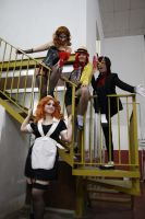 The Rocky Horror Girls by moonlightspirit