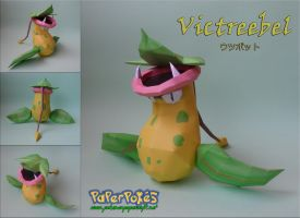 Victreebel Papercraft by Olber-Correa