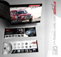 Rally team catalog no.1 by offmega