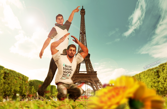 Eiffel for You by Detonxted