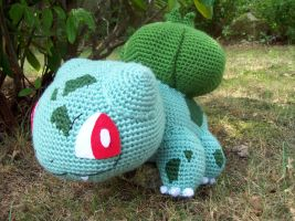 Bulbasaur Amigurumi by DarkWater9
