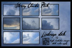 Stormy Clouds Pack by lindowyn-stock