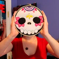 Custom Order Sugar Skull by loveandasandwich