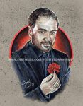 Supernatural - Crowley {King of Hell} (2015) by scotty309