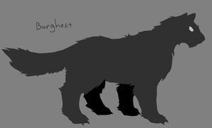 Barghest by PineappleSodaCat