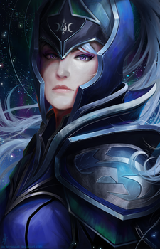 Dota 2 - Luna, the Moon Rider by Arcan-Anzas
