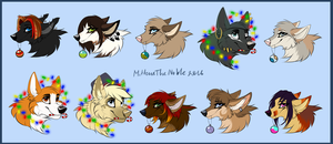 Gifts 2017 vol.1 by MittensTheNoble