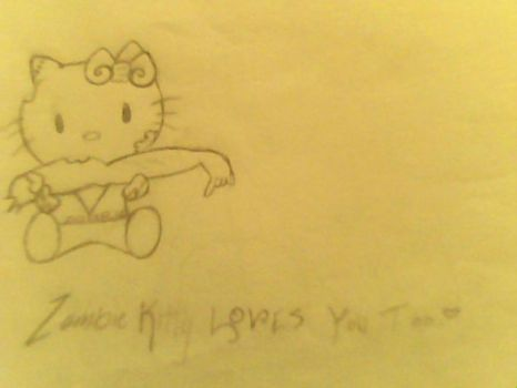 Hello kitty loves you too by EmosaurousChey