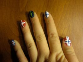 The Nordic Nails by thesmilyone