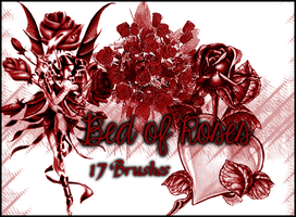 Bed of Roses by Illyera