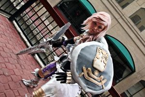 Lightning with Armor ikkicon2012 by Claudillama