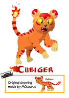 Request part 2 - Cubiger by MarkProductions