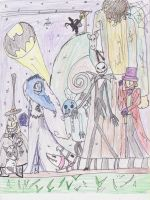 Tim Burton Parade middle by Art--Pixie