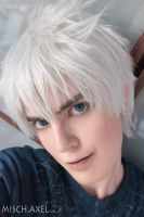 Jack Frost - make up and wig by MischievousBoyAilime