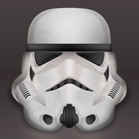 Storm Trooper Icon WIP by elajes