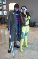 CTcon '12 - Gambit and Rogue by TEi-Has-Pants