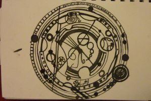 Gallifreyan tattoo 3 by BlueBoxDrifter
