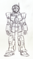 GM Sniper II sketch June 2014 by Blayaden