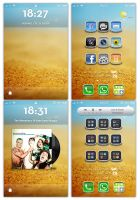 iPhone 4 Themed by MarikSH