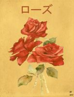 rose poster by desithen