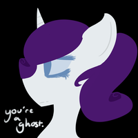 .:you're a ghost:. by MistiGears