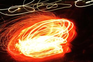 Flames in Motion by PhotonicBohemian