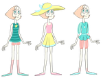 Pearl Outfits by TheCheeseburger
