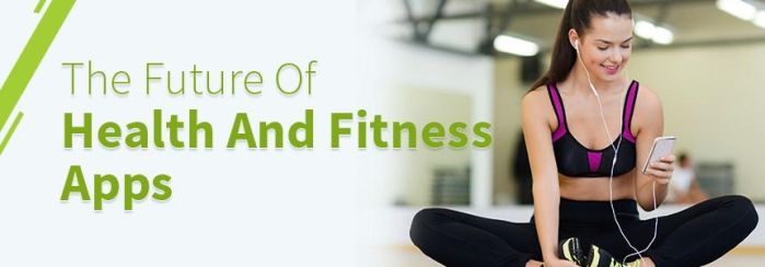 The Future of Health And Fitness Apps by envisionmobileapps