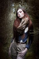 Winter Girl by EmeraldVenom-Photo