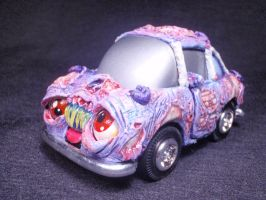 Zombie Pullback Glow in the Dark Rot Car Undead Ed by Undead-Art