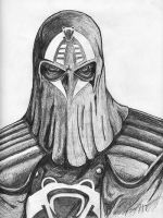 Cobra Commander Hood by daughertysm