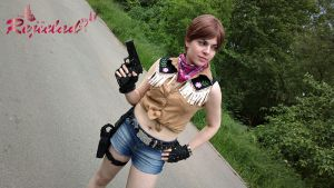 Rebecca Chambers RE0 cowgirl cosplay I by Rejiclad