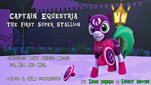 [SFM/Gmod] Captain Equestria [DL] by LimeDreaming