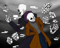 Like father like son (Undertale) by MichPajamaArtist