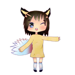 Ninetail Fox- Mystical Chibi Adopt! Auction [OPEN] by GamersCable