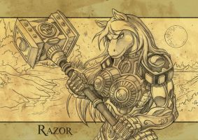 Your Character in a Fantasy Armor Commision 4 by Talthec