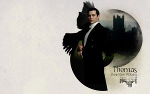 Thomas: Downton Abbey Wallpaper by Vylomy