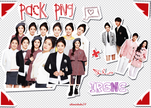 Pack pngs Irene (RV) #1 by shinniebabe24