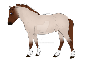 Roan Horse Adopt URGENT by MasqueradeFirefly