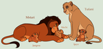 Lion Family Adoptables 7 *CLOSED* by acornheart465
