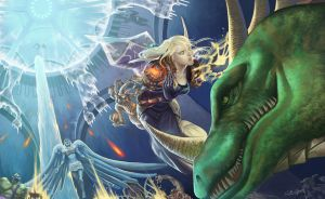 wow fan art by Angju