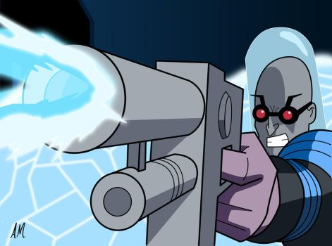 Mr freeze by Amish56