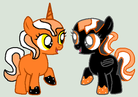 Pumpkin Spices and Spooky Night Adopts Closed by SplashingBuizel