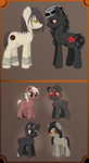 Eclipse X  Gloom quill breedable foals (Open) by Otter-Adopts