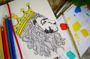 The King by manupaivaellon